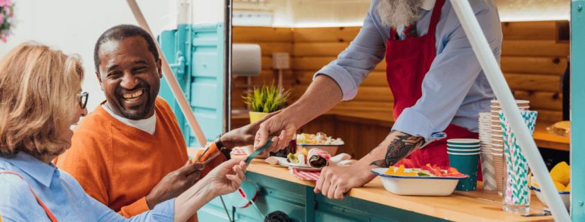 senior living marketing event ideas, food truck